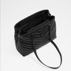 e1d1c4a06e1 Aldo Bags - Aldo Black Maewiel Shoulder Tassel Bag